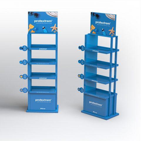 Floorstand Protección solar