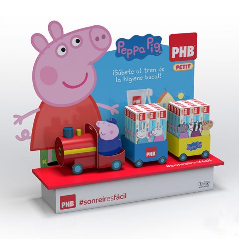 Escaparate Peppa Pig