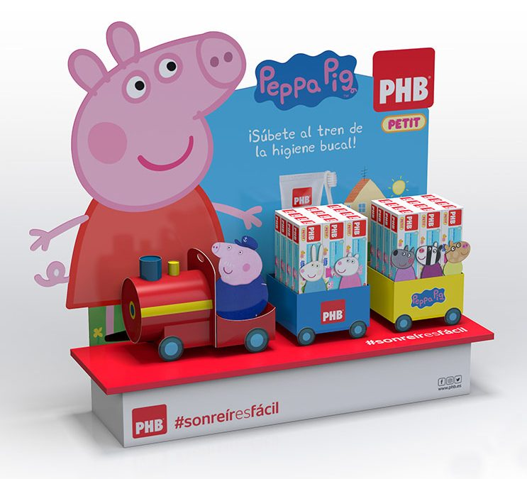 Escaparate Peppa Pig