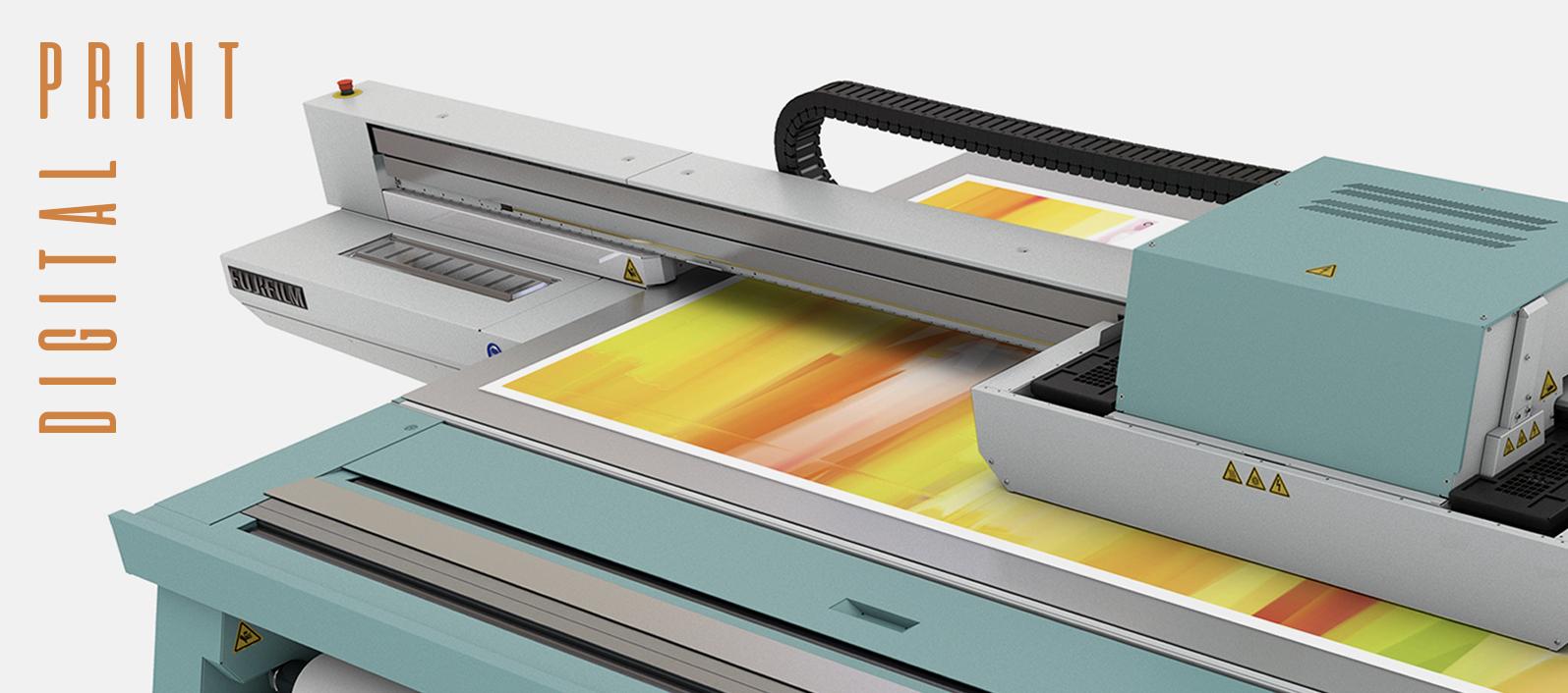 En Multigraf incorporamos una nueva máquina de impresión digital.
