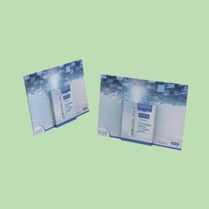 Display portafolletos, PLV para farmacias
