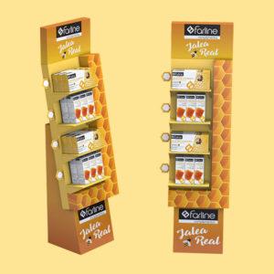 Floorstands PLV para farmacias